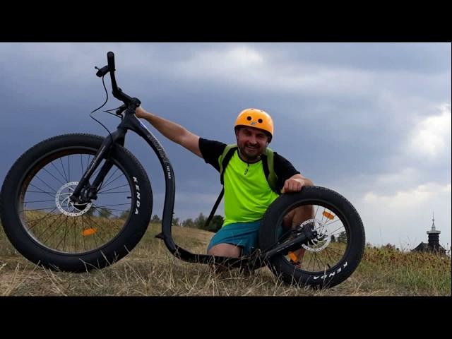 Kickbike Fat Max on ride people