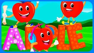 A B C Phonic Letters A B C D E F G Song Learning Alphabet Game Best games for kids
