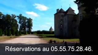 Château de Bonneval à Coussac Bonneval
