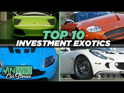 Top 10 Investment Exotic Cars