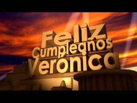 feliz cumpleaños Veronica