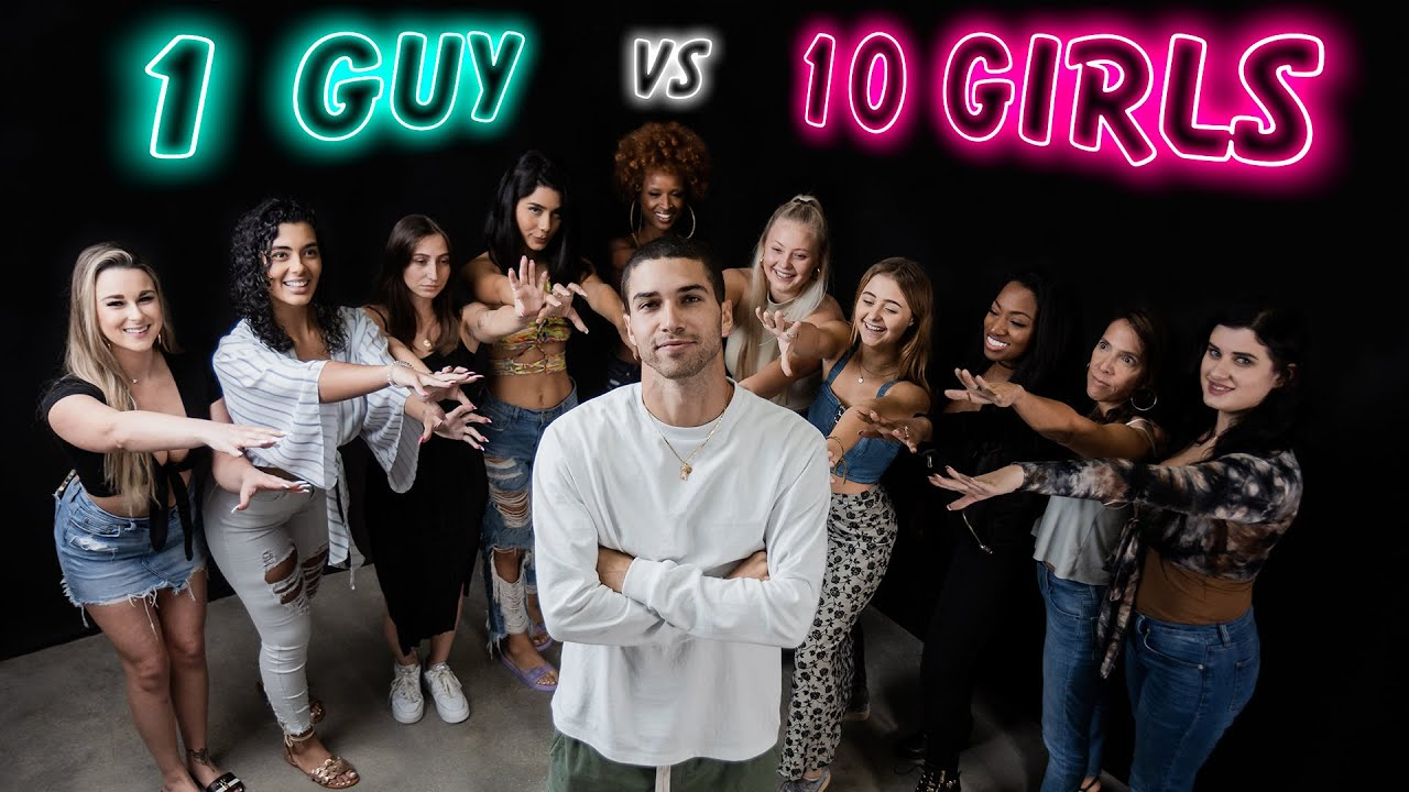 1 Cocky Guy Speed Dates 10 Girls In 30 Seconds