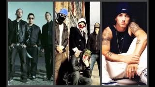 Linkin Park, Eminem, Hollywood Undead, & Fort Minor (Drop the Young Papercut World)