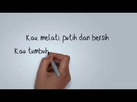 Dian Pramana Poetra feat Sammy Simorangkir - Kau Seputih Melati (Lirik)