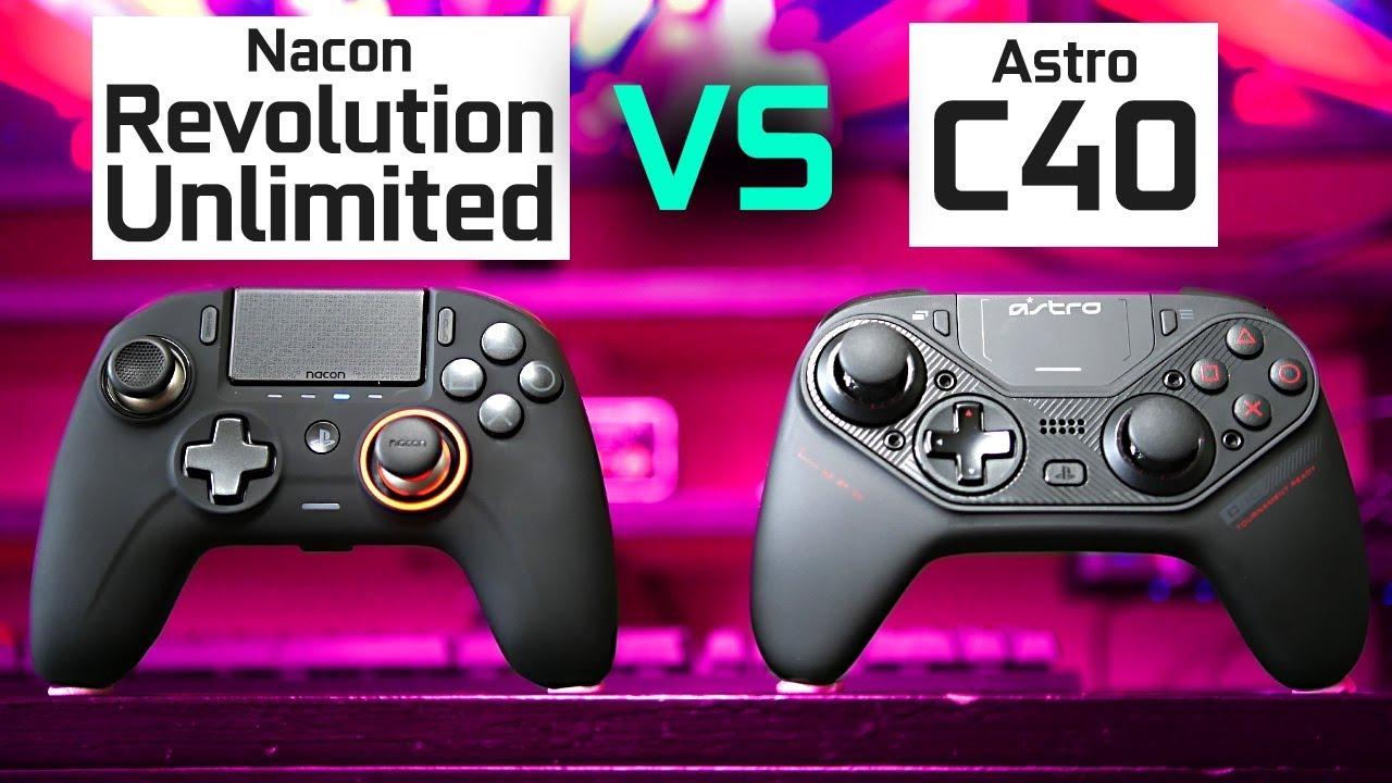 Download Nacon Revolution Unlimited vs Astro C40 TR - Best PS4/PC Controllers