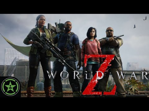 IDIOT AVENGERS ASSEMBLE - World War Z | Let's Play