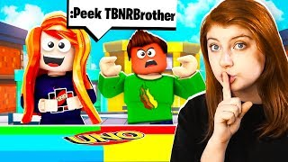 I CHEAT IN ROBLOX UNO WITH PRESTONPLAYZ! MY LITTLE BROTHER RAGES!