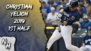 Christian Yelich 2019 1st Half Highlights