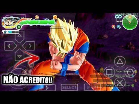 Bomba Novo Dragon Ball Super Tenkaichi Tag Team Para Android Com Menu Modificado P Ppsspp