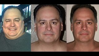 face shots before and after weight loss results of juice fasting and raw foods