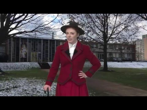 Mary Poppins visits Bishop Eustace Preparatory School