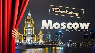 BackStages: Moscow Winter Timelapse/Hyperlapse