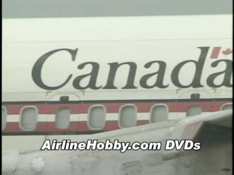Canadian Armed Forces Boeing 707 CC-137  ... awesome classic jetliner footage!