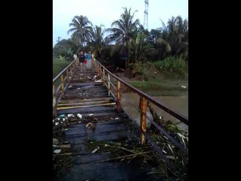 Video Amatir Banjir Bandang Mulyadadi Kecamatan Majenang