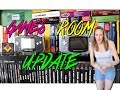 RETRO GAMES ROOM CHANGES | 1000's of GAMES | TheGebs24