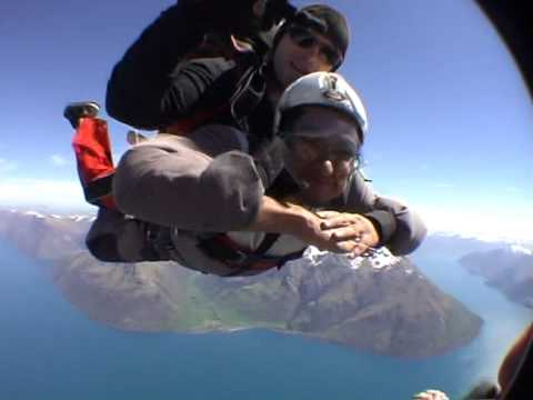 Sky dive in New Zealand part2 by Abhishek Bhat