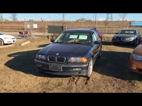 2000 BMW 323i Junk Yard Walk around