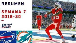 Los Bills vuelven a triunfar ante Dolphins que cada día luchan más | Highlights Bills vs Dolphins