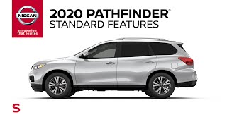homepage tile video photo for 2020 Nissan Pathfinder S Walkaround & Review
