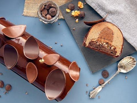 bûche-de-noël-au-chocolat-(2ième-partie)