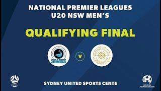 NPL NSW U20s Qualifying Final Sutherland Sharks FC V Rockdale City Suns FC NPLNSW