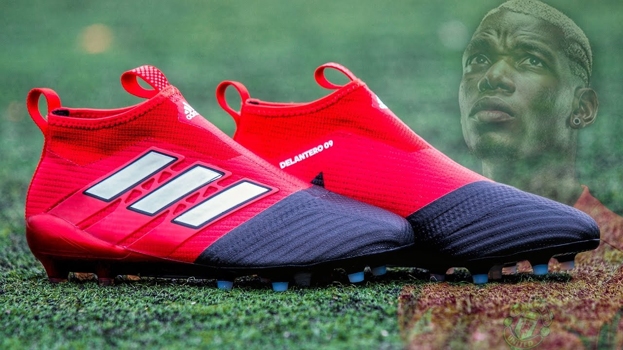 adidas ACE17+ Purecontrol Red Limit - Review Nuevas Botas de Pogba - YouTube e33a56aa69119