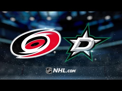 Pitlick's pair of goals leads Stars past Canes, 4-3