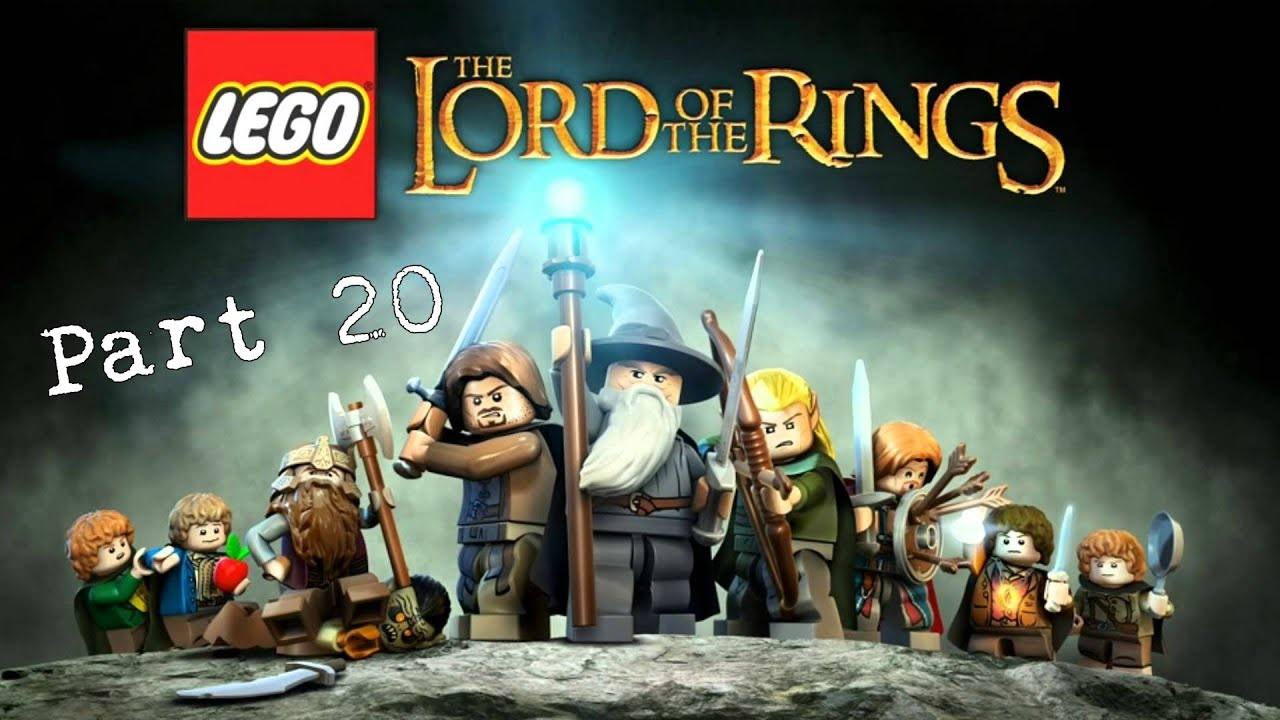 Lego Lord Of The Rings Gameplay Part