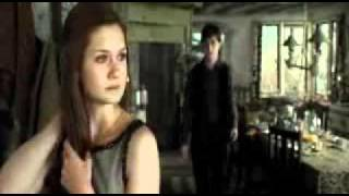 Harry And Ginny Kiss starring George :D - HP7 Part 1