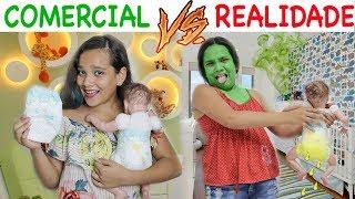 COMERCIAL VS REALIDADE 3! - JULIANA BALTAR