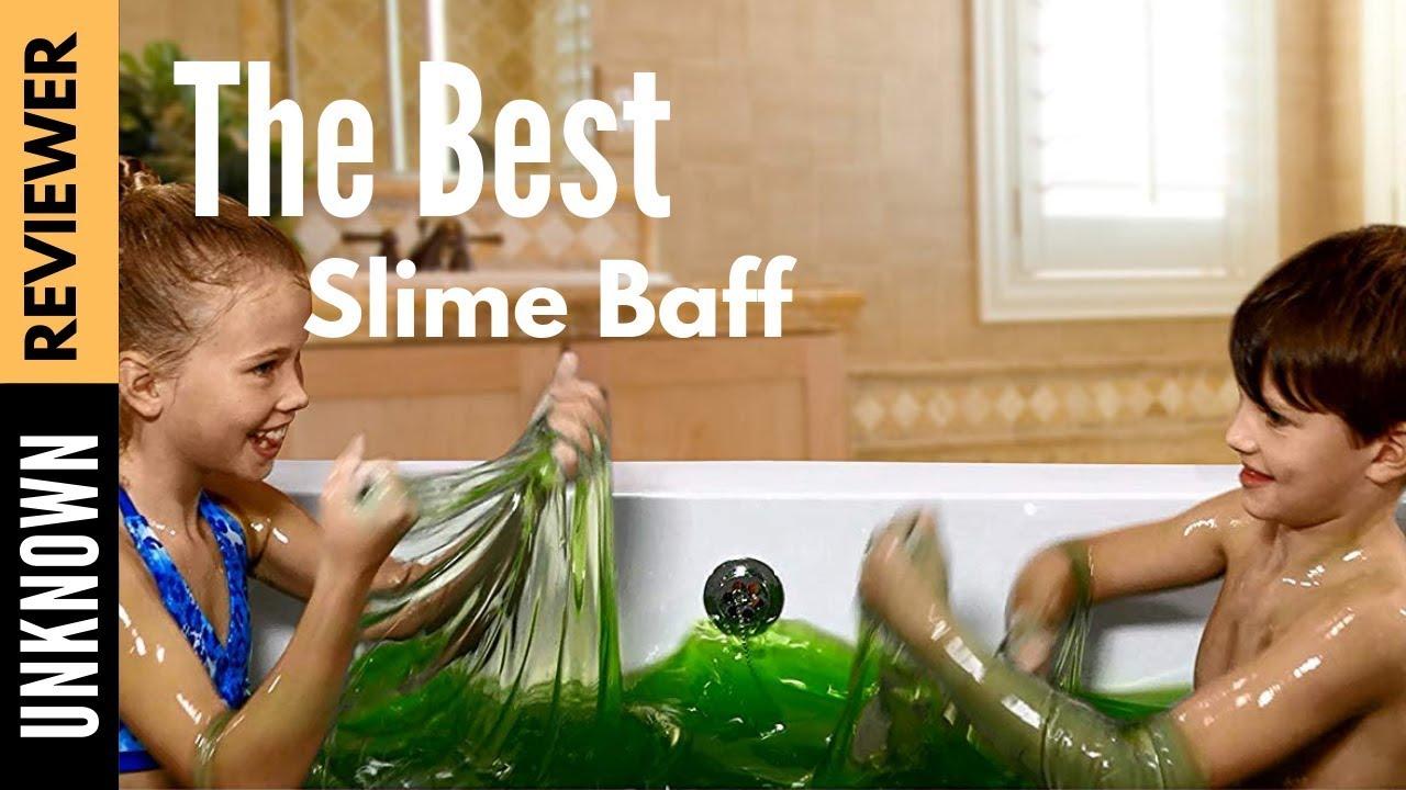 bukkake Girl bathing in goop