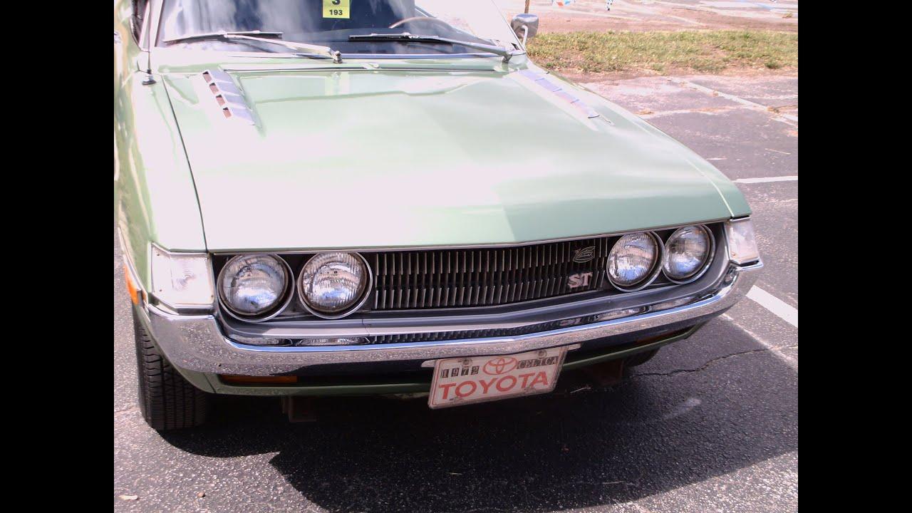 1972 Toyota Celica St Hardtop Grn Ot060113 Youtube