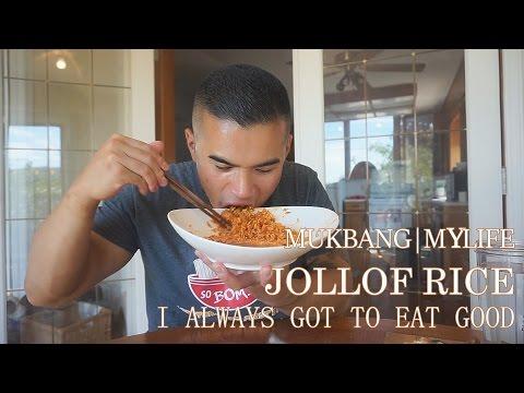 QT| MY LIFE |JOLLOF RICE |MUKBANG