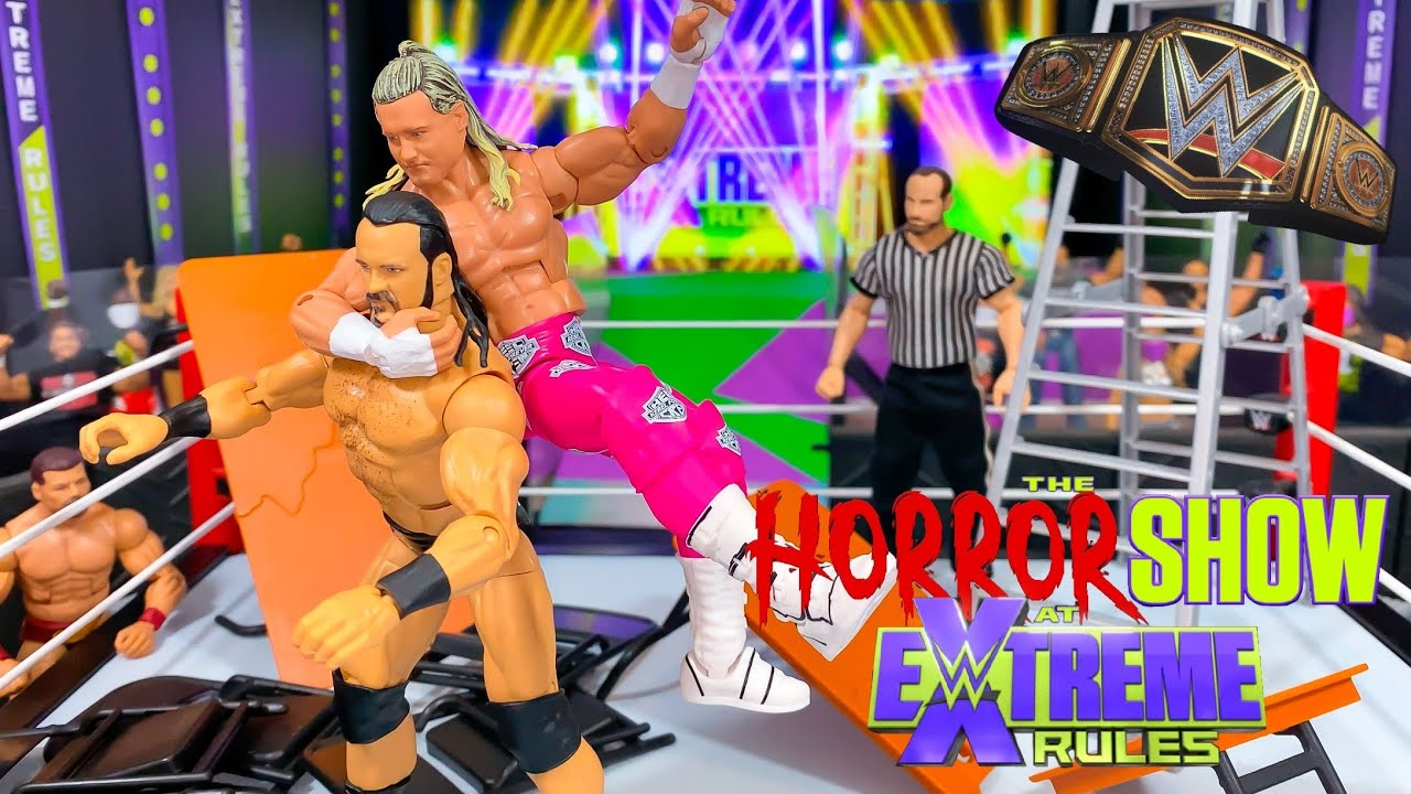 DREW MCINTYRE VS DOLPH ZIGGLER WWE CHAMPIONSHIP ACTION FIGURE MATCH! EXTREME RULES 2020!