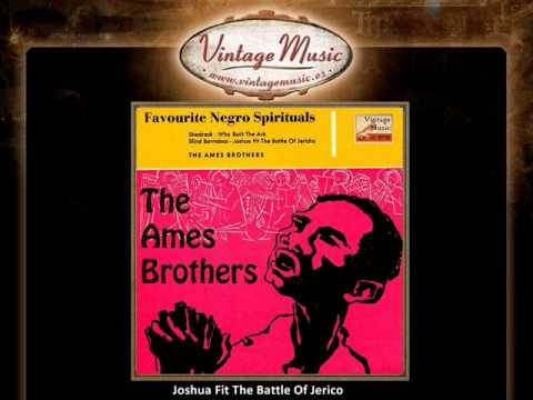 The Ames Brothers - Joshua Fit The Battle Of Jerico  (VintageMusic.es)