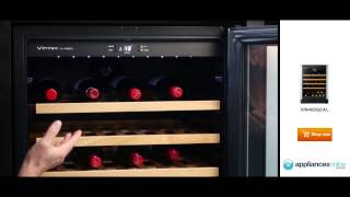 Overview Of The 50 Bottle Capacity Vin40sgealrh Vintec Wine Storage Cabinet - Appliances Online