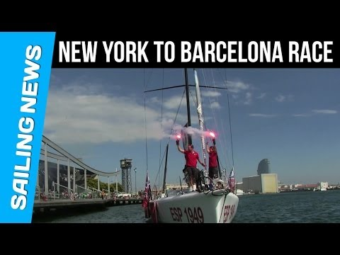 New York to Barcelona Race | GAES finish