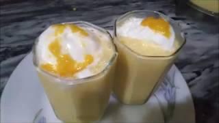 Easy Ice Cream Mango Shake | Recipe Of Ice Cream Mango Shake | Jairy
