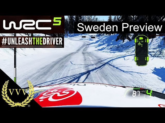WRC 5 Gameplay Preview Part 3 Sweden