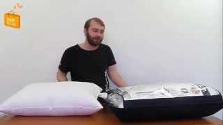 Уникальные подушки 50% пух и 50% outlast(Немецкий бренд OBB уникальные трёхкамерные подушки: пух и волокно Outlast 50 на 50%. Мягко, как на пуховой, и прохлад..., 2015-05-27T08:11:18.000Z)