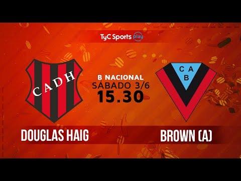 Primera B Nacional: Douglas Haig vs. Brown (A) | #BNacionalenTyC