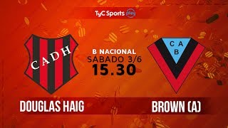 Douglas Haig vs Brown de Adrogue full match