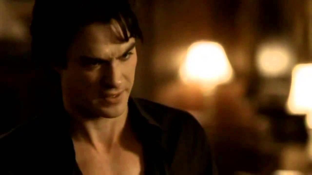 Download TVD 2X01 Damon Katherine kiss I've never loved you, it was always Stefan