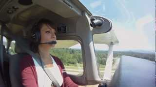 Hanne's Private Pilot, solo cross country, part 2