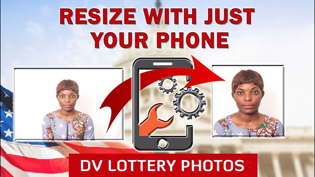 how to crop picture for dv lottery