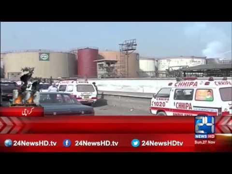 1000 ton chemical burned in KPT fire