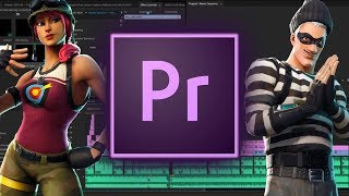 How to Make a Professional Fortnite Montage in Adobe Premiere Pro!