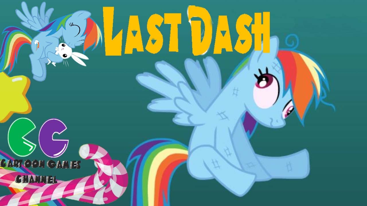 Last Dash Pony Flying game: Rainbow dash fast flying ...