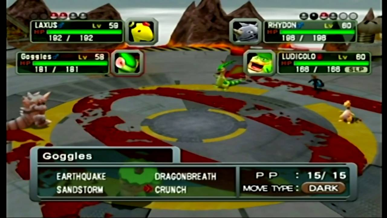 Image result for pokemon colosseum battle tag