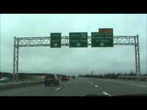 Road Trip Video From St Johns Airport To St Thomas Line